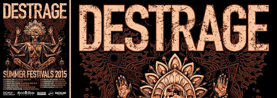 Destrage schedule European summer festivals: With Full Force, Bloodstock, and more!