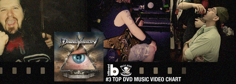 'Dimevision Vol. 2: Roll With It Or Get Rolled Over' debuts at #3 on the Billboard Top DVD Music Video Chart