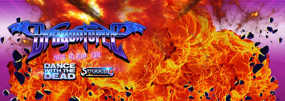 DragonForce announces North American, UK, European tour dates