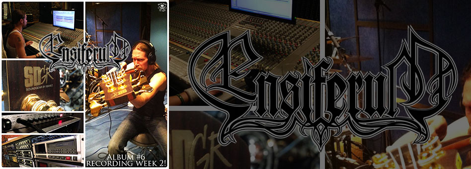 Ensiferum nearing completion on recording new album!