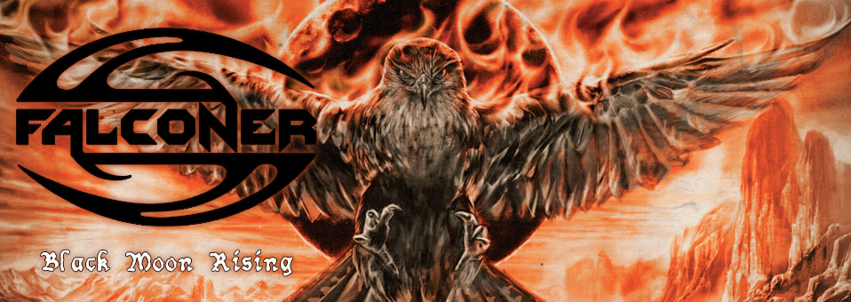 "Sweden's FALCONER return with ""Black Moon Rising""!"