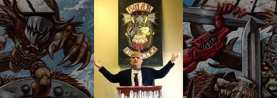 "GWAR delivers ""State of The Union"" and drops new song, ""El Presidente"""
