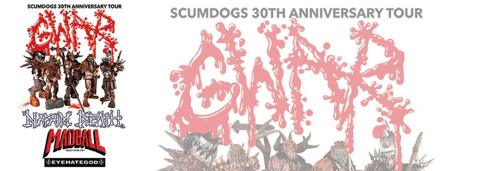 """GWAR announces """"Scumdogs 30th Anniversary Tour"""""""