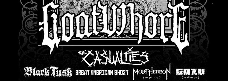 Goatwhore to headline 2018 edition of The Metal Alliance Tour this fall