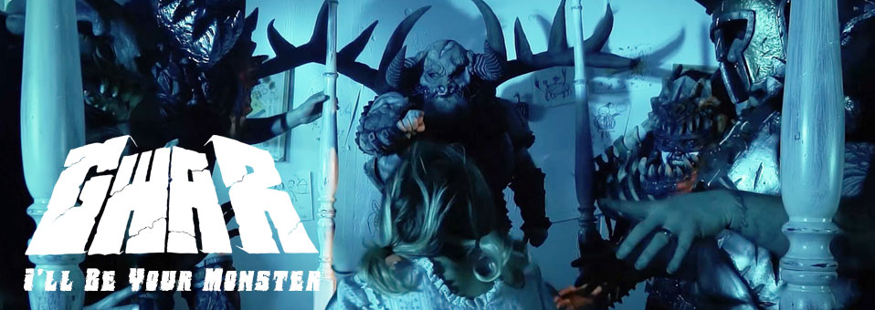 "GWAR premieres video for ""I'll Be Your Monster"" via HowardStern.com"