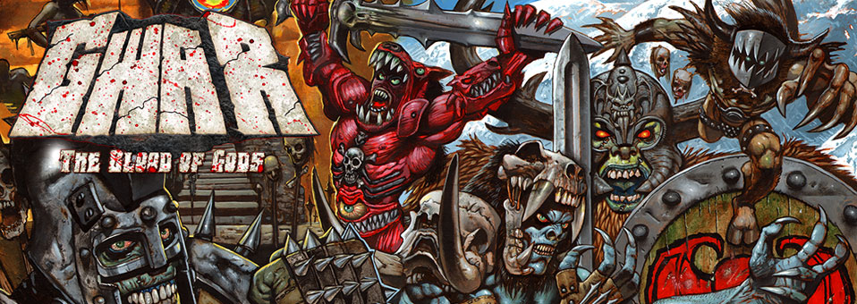 "GWAR Announces Full Details Of New Album ""The Blood of Gods"""