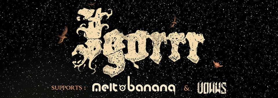 Igorrr announces North American headlining tour with Melt-Banana, Vowws