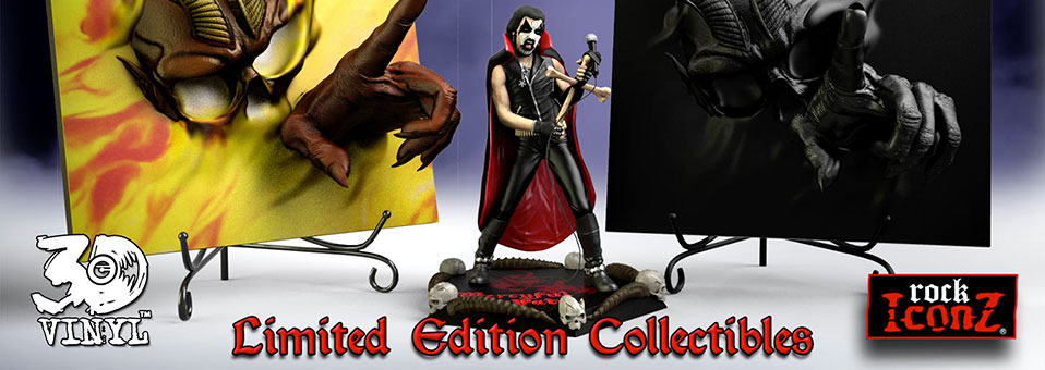 Mercyful Fate 'Don't Break the Oath' 3D Vinyl™ Special Ltd. Edition & King Diamond Rock Iconz™