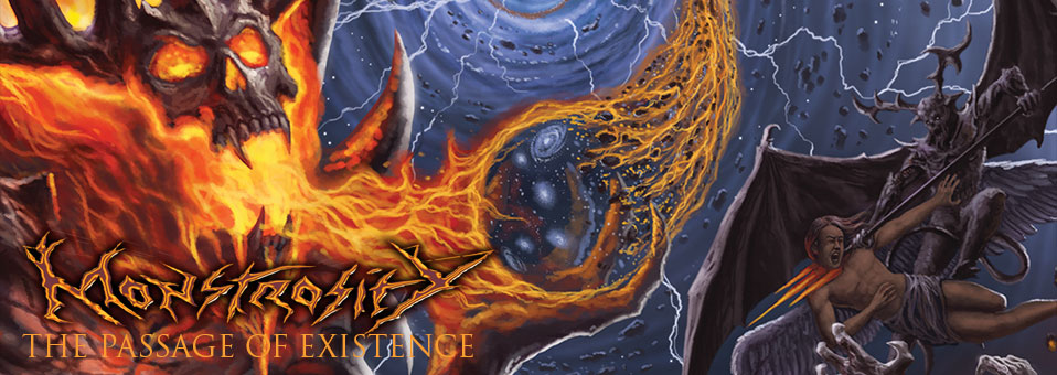 "Monstrosity releases new single, ""Kingdom of Fire"""