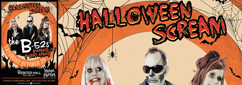 "Mother Feather to support The B-52′s on ""Halloween Scream"" NYC tour dates"
