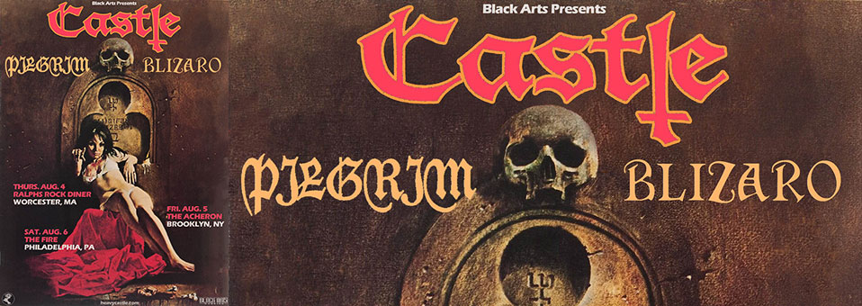 Pilgrim announces tour dates with Castle, Blizaro