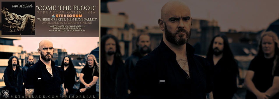 PRIMORDIAL: Dublin Metal Troupe Unveils New Tune At Stereogum