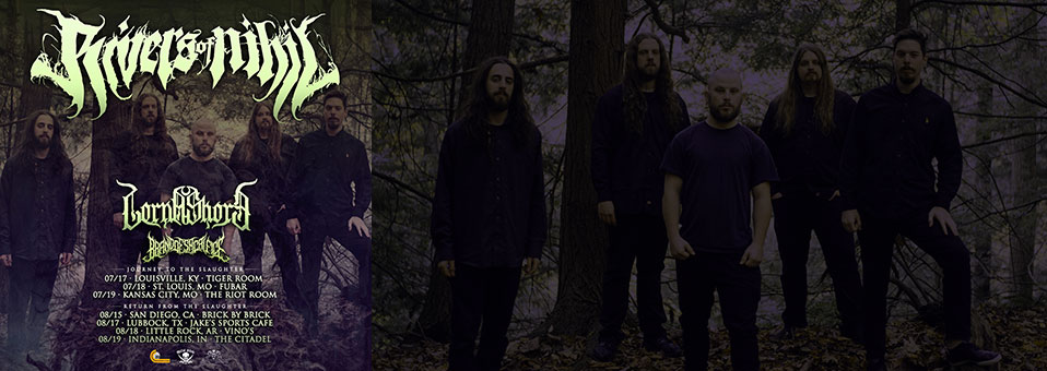 Rivers of Nihil announce headlining dates around Summer Slaughter 2019