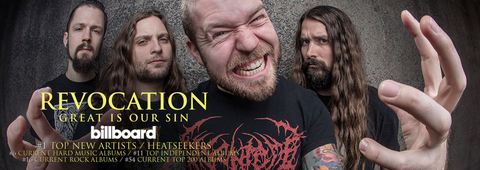 Revocation enters the Billboard Charts with new album, 'Great Is Our Sin'