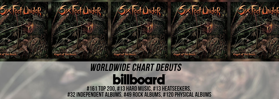 SIX FEET UNDER: Crushing 'Crypt Of The Devil' First-Week Chart Numbers Revealed