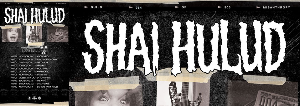 Shai Hulud plot US and Canadian dates beginning May 28