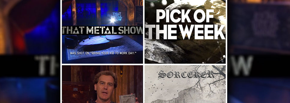 "Swedish Doomsters SORCERER Chosen as Jim Florentine's Pick of The Week on ""That Metal Show"""