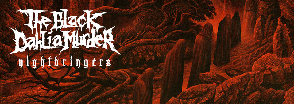 The Black Dahlia Murder releases new album, 'Nightbringers', today