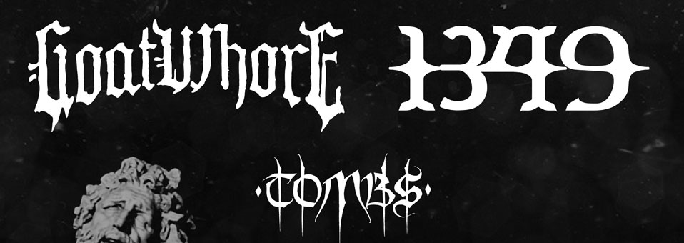 Tombs announces USA tour dates with 1349, Goatwhore