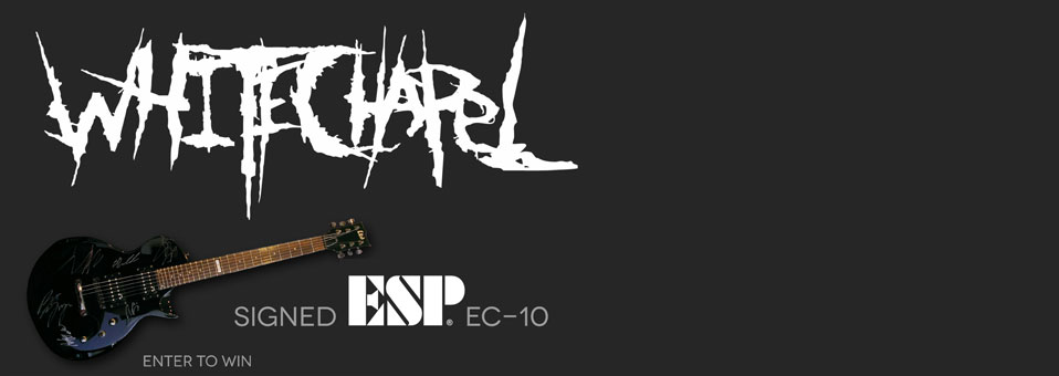 "WHITECHAPEL debut ""Devirgination Studies"" lyric video; launch signed ESP guitar contest on MetalInsider.net"