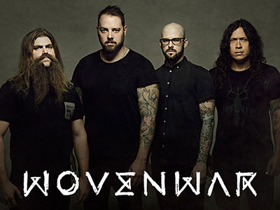 WOVENWAR debut first single 'All Rise' on the band's official website!