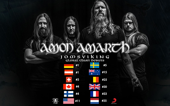 Amon Amarth Us Tour