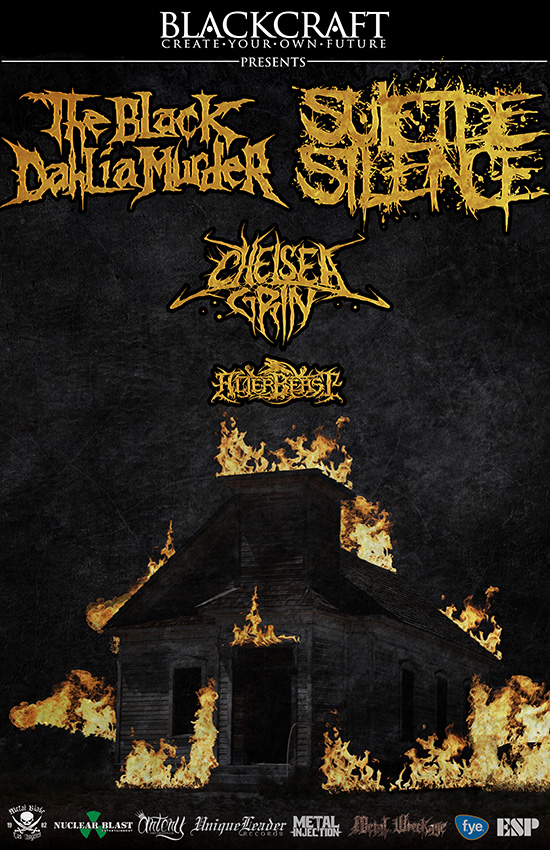 Suicide Silence And The Black Dahlia Murder Announce N American Co