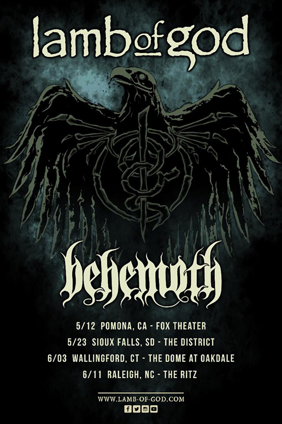 Behemoth Tour  North America