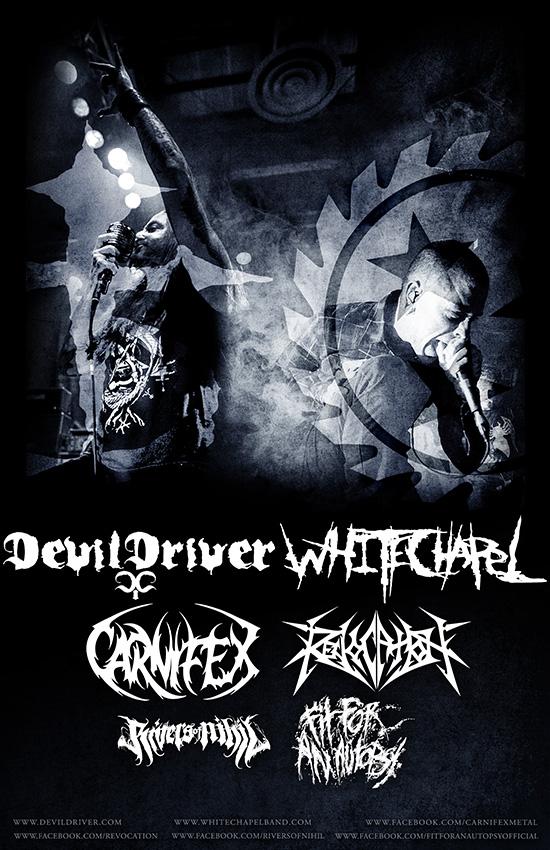 Devildriver Tour