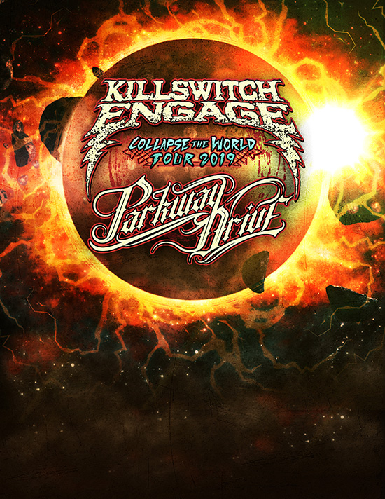 Killswitch Engage and Parkway Drive announce co-headline