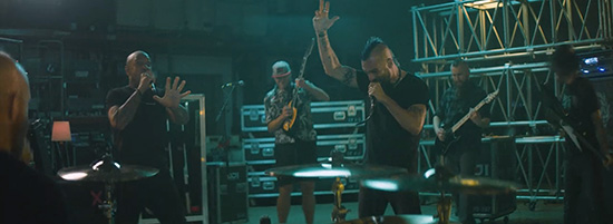 "Killswitch Engage releases incendiary new clip for ""The"