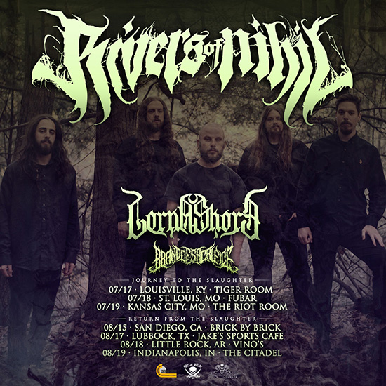 Summer Slaughter 2020.Rivers Of Nihil Announce Headlining Dates Around Summer