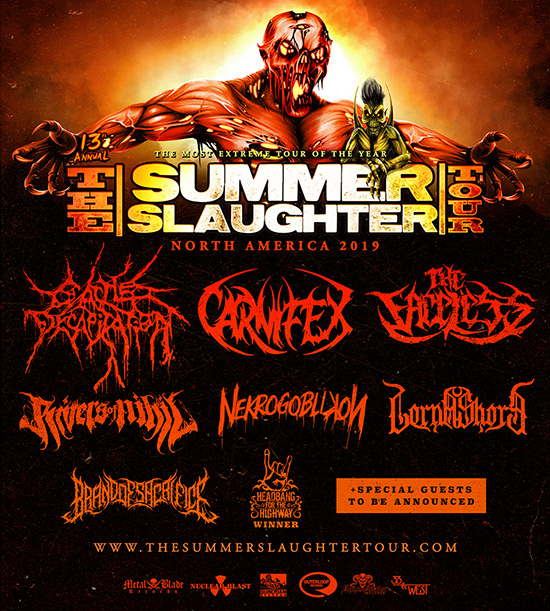 Summer Slaughter Tour 2019 - Reveal Line-Up And Tour Dates - Metal Storm