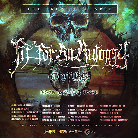 Rings Of Saturn Tour Chicago