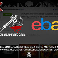 Metal Blade Records Usa Re Launches Official Ebay Store Metal