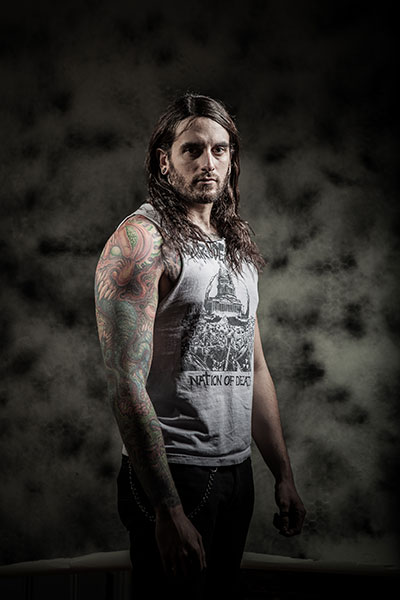 job-for-a-cowboy_photo01 Job For A Cowboy Embedded on death metal, members drummer, goat skull, album cover art, vocalist tattoo, imperium wolves shirt, death metal bands, john davy, jon davy, cd cover,