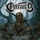 "Swedish death metal act ENTRAILS launch single and unveil art for ""Raging Death"""