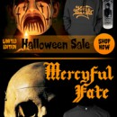 King Diamond / Mercyful Fate Halloween Sale