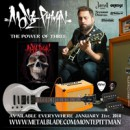 "Metal Blade Records announces the new album from MONTE PITTMAN ""The Power of Three"""