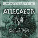 "Allegaeon announces ""Apoptosis Tour Pt II"" USA headlining trek with Inferi, Paladin"