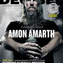 Amon Amarth graces cover of Decibel Magazine for fourth time