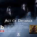 Act of Defiance lands on international charts with new album, 'Old Scars, New Wounds'