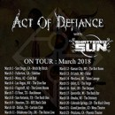 "Act of Defiance to hit the road in support of ""Old Scars, New Wounds"""