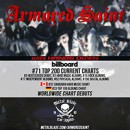"ARMORED SAINT's New Album, ""Win Hands Down"", Debuts At #71 On Billboard Top Current 200 Chart"