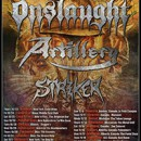 Artillery announces North American Thrash Invasion tour this fall!