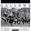BARN BURNER announces tour with GALLOWS