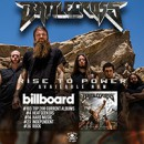 "BATTLECROSS Enter Billboard Charts With Third Album ""Rise To Power"""