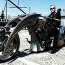 BEHEMOTH motorcycle nearing completion; photos posted on-line