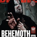 Behemoth featured on the cover of Decibel Magazine