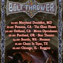 "BOLT THROWER announce ""Return To Chaos"" US tour!"